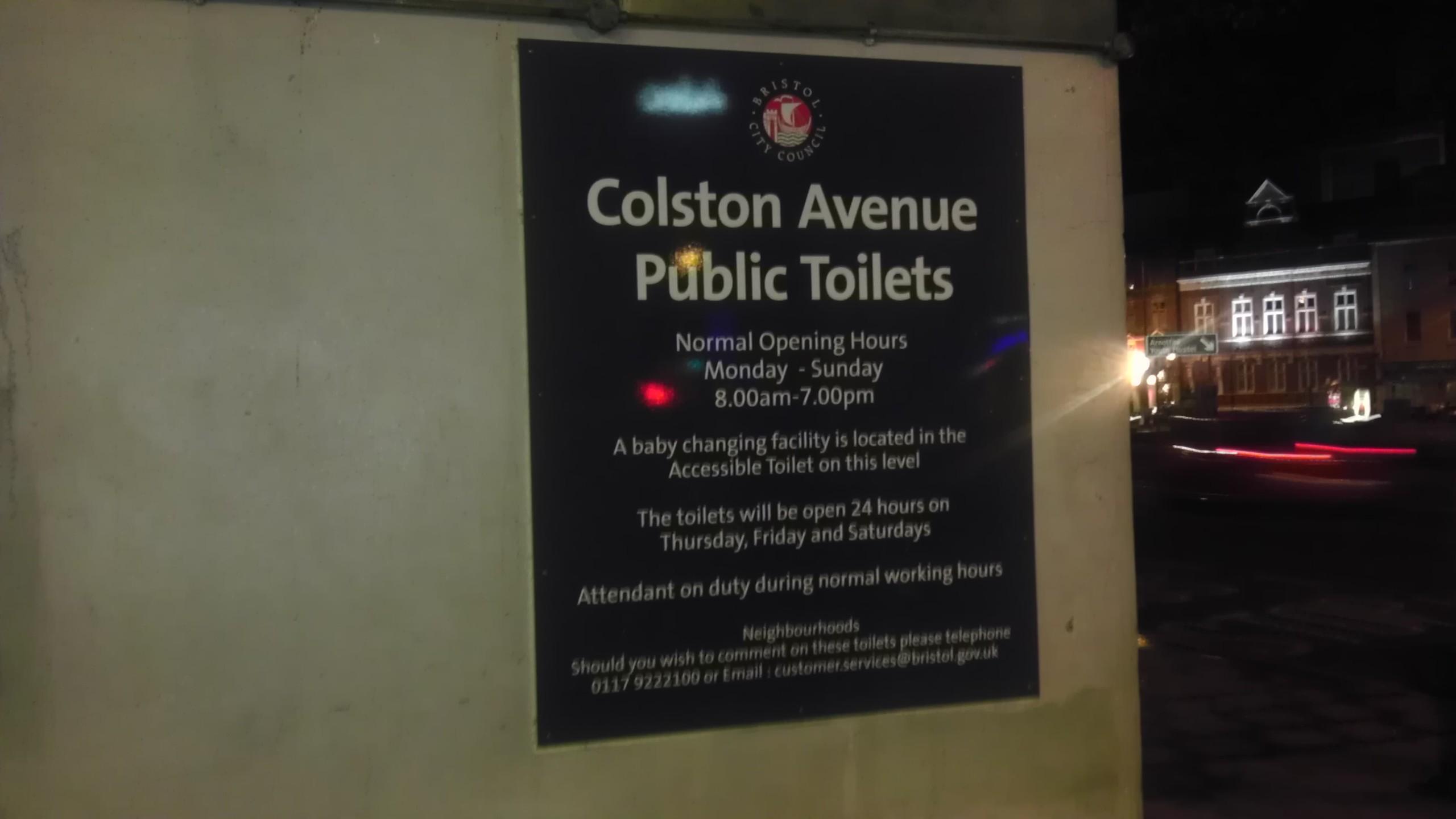 Colston Avenue